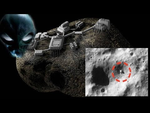 NASA captures images of an 'ancient Alien mining machine' on the Asteroid 433 Eros
