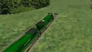 Microsoft Train Simulator Train Wrecks Part One