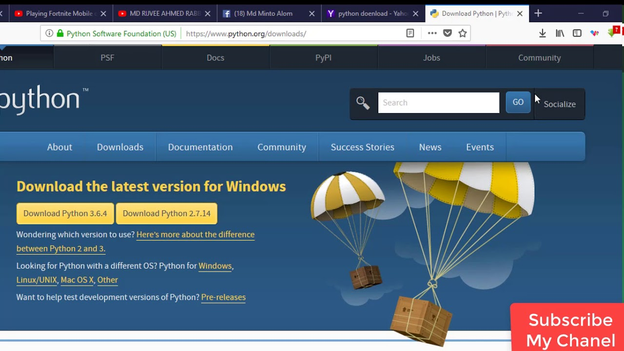 How To Download And Install Python Latest version 3.6.4 ...