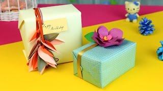 видео Как своими руками оригинально упаковать подарок
