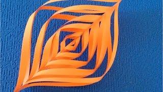 DIY. Как из бумаги сделать ✽ Новогодний Фонарик 3D. Мастер класс.(Традиционное украшение Елки на Новый Год — цветной фонарик — подвеска. Игрушки фонарики подвешиваются..., 2015-11-01T23:43:07.000Z)