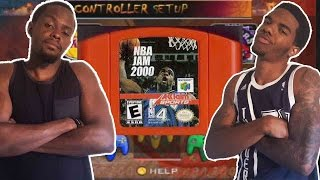 CRAZY LATE GAME RALLY!!! -NBA JAM 2000 | #ThrowbackThursday ft. Juice