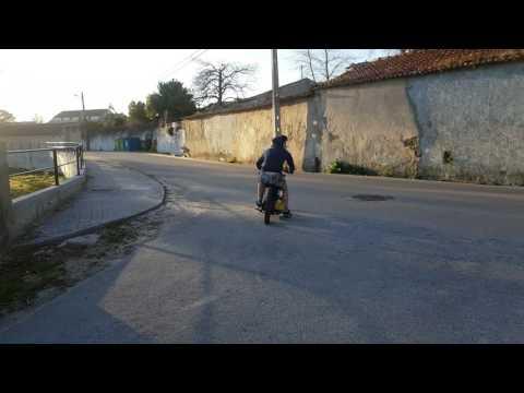Piaggio Boxer 2 Rat Style swap 110 4 Stroke (pitbike)