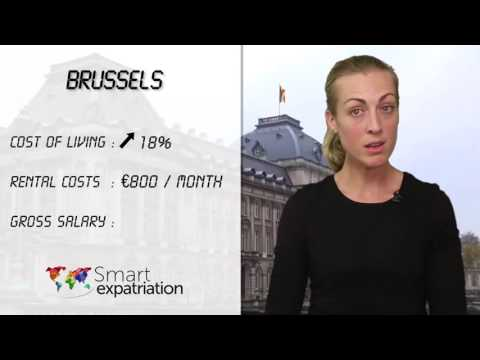 Brussels - Cost of Living, Rental Costs & Gross Salary