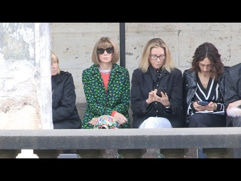 Carine Roitfeld, Aymeline Valade, Anna Wintour and more at Proenza Schouler Fashion Show