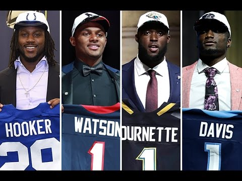 AFC South 2017 NFL Draft Class Rankings By Team! Texans! Jaguars! Colts! Titans! Grades! Review!