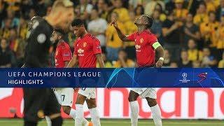 UEFA Champions League   Young Boys vs Man United   Highlights
