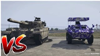 GTA 5 APC VS TANK (which one is better).
