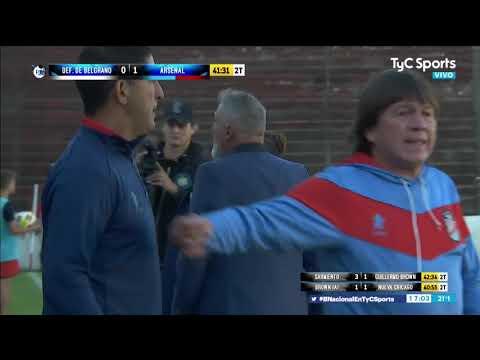 El gol agónico de Arsenal para jugar la final de la B Nacional ante Sarmiento