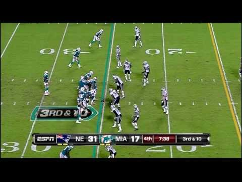 Monday Night Football Patriots vs. Dolphins: Ron Jaworski Curses Live On Air (9/12/11)