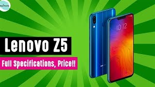 Lenovo Z5 | Full Specifications.