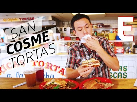 Authentic Tortas at San Cosme in Toronto's Kensington Market — Dining on a Dime