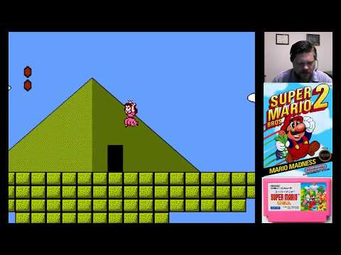 Super Mario Bros. 2 World 6 - VGHI Play 'n' Chat Live Stream