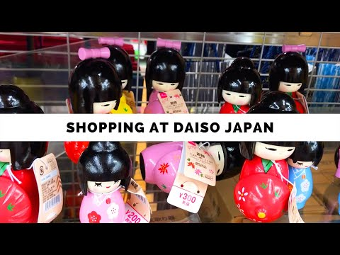 Shopping At DAISO Japan!