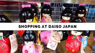 Shopping at DAISO Japan!