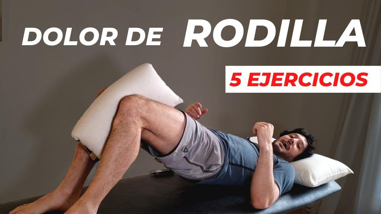 5 Mejores ejercicios para dolores de RODILLA