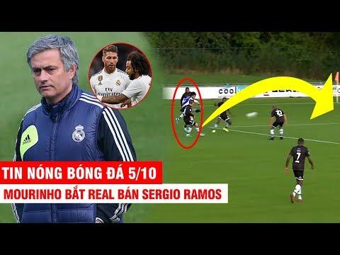 TIN NÓNG BÓNG ĐÁ 5/10 | Mourinho đòi Real bán Ramos – Văn Hậu tái hiện cú Trivela đẳng cấp ở Hà Lan