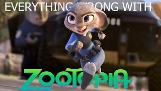 Everything Wrong With Zootopia In 15 Minutes Or Less [Parody]