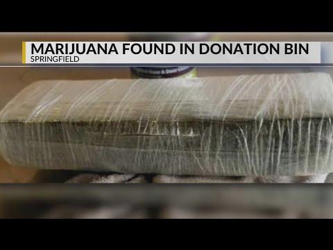 Mel Taylor - $3,000 Brick of Marijuana Found in a Charity Drop-Off Bin...