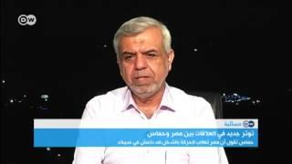 خليفات عودة التوتر بين حركة حماس ومصر