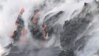 Hawaii Volcanoes National Park Lava (Aug. 16, 2016)