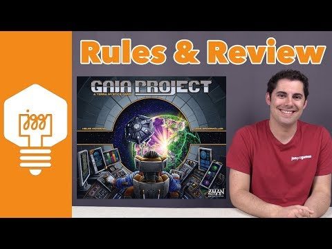 Gaia Project Review - JonGetsGames