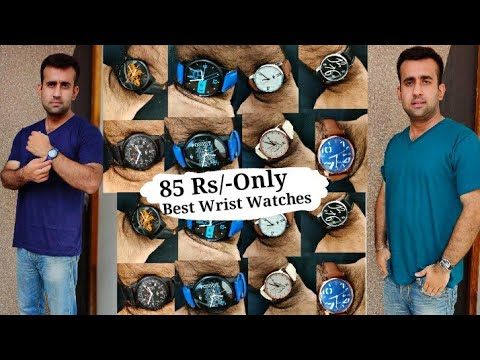 😳85 Rs.Wrist Watches From Flipkart| One Year Warranty Combo Of 8 Watches| Cheap And Best Watches|