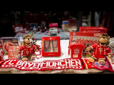"""Weihnachtliche """"FC Bayern Fanwelt"""""""