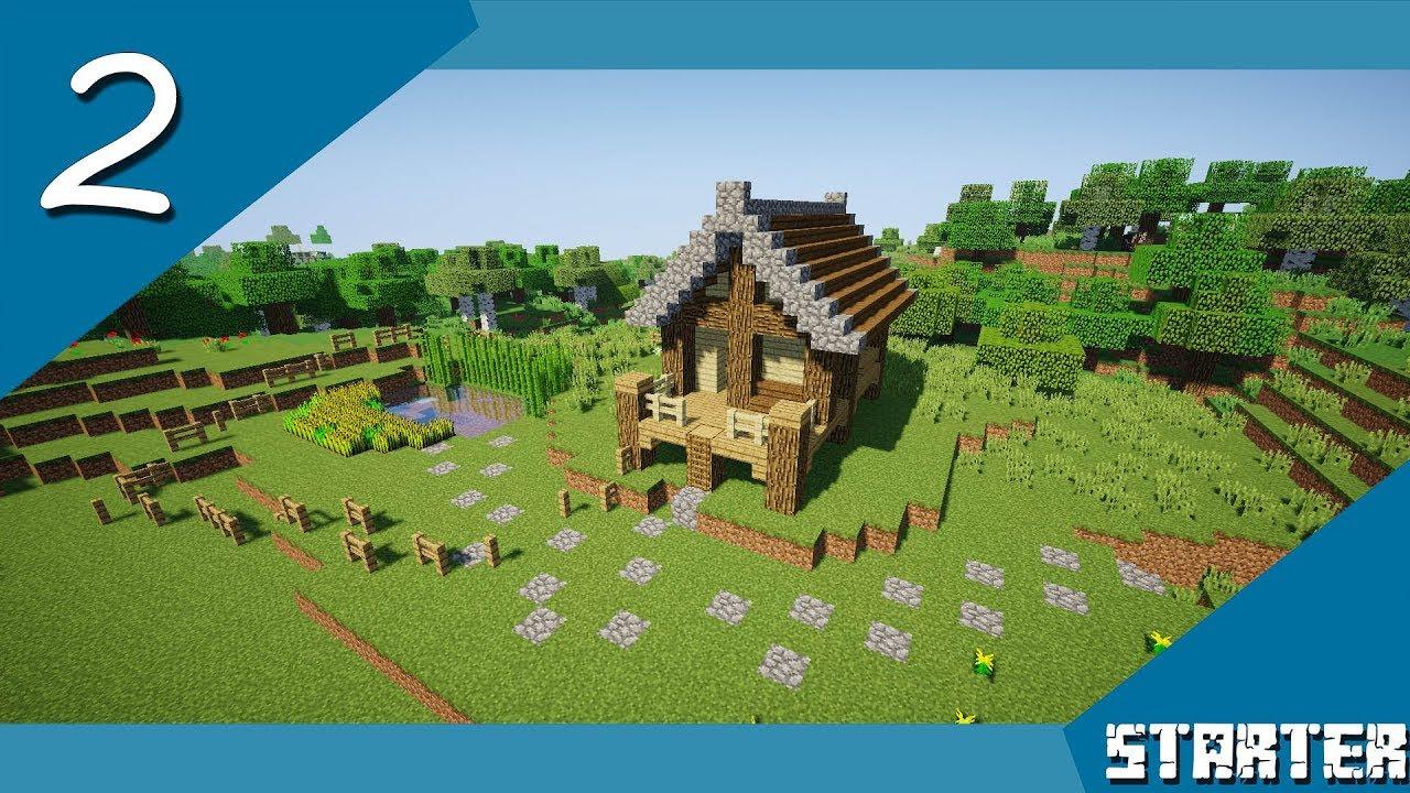 Minecraft  Tutorials  Starter  Plains biome house  10