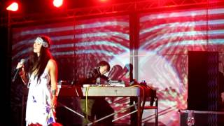 Zara Taylor - Lost (Chillout Mix) Live @ Taiwan Masago Music Festival 2012