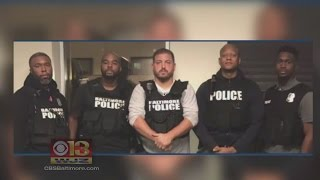 7 Baltimore Police Officers Charged In Racketeering Conspiracy