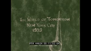 1939 NEW YORK STATE HOME MOVIES & 1939 WORLD'S FAIR in COLOR 44624
