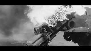 Полуденный паром (1967) - car crash scene