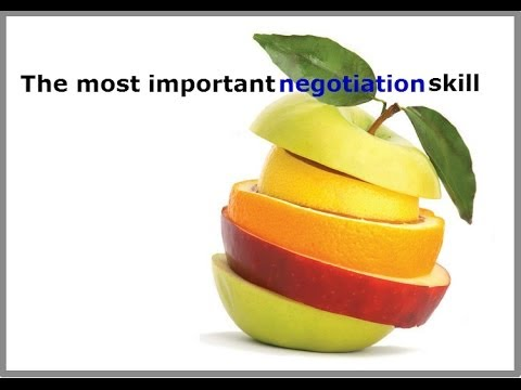 importance of negotiation skills Negotiation skills introduction everybody negotiate in his or hers personal and professional lives and it is an important part of the competitive modern life negotiations can occur over dealing with people, business contracts, official matters, service, buying products and relationships.