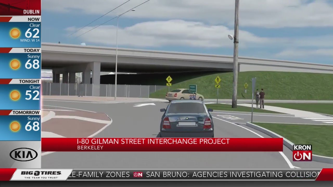 Interstate 80 Gilman Street Interchange Project