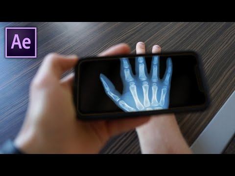 After Effects - Phone X-Ray Tutorial