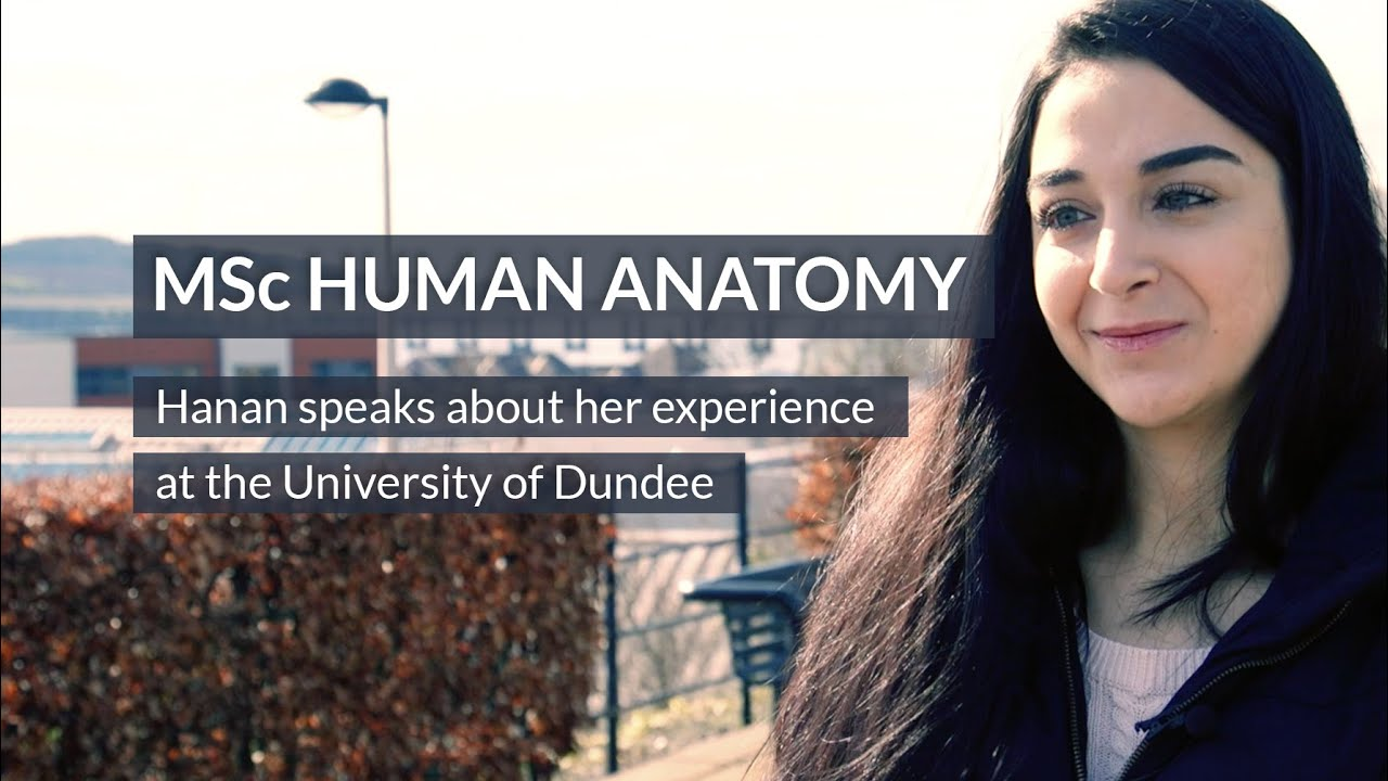 Msc Human Anatomy At The University Of Dundee Youtube