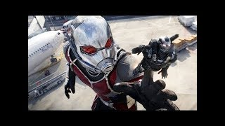 Captain America Civil War: (Ant-man Scene) Tamil DUB