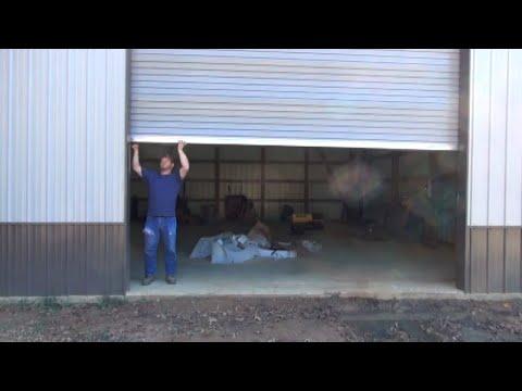 How I Got The Roll Up Door Run Around!