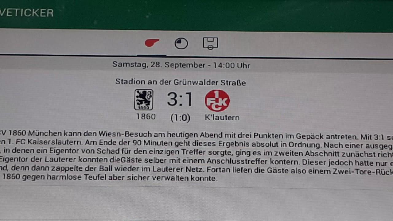 Kaiserslautern Gegen 1860 München