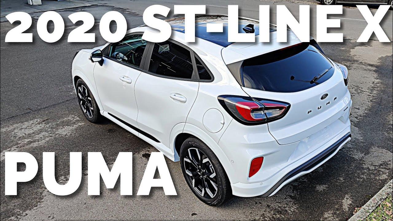 2020 Ford Puma St Line X Exterior Interior Ecoboost Hybrid