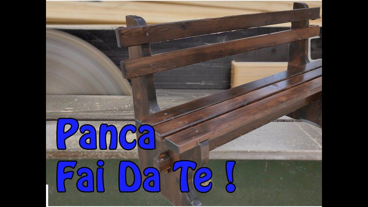 Top Come ho realizzato una panca - YouTube FC49