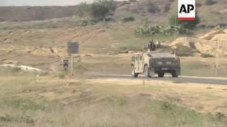 Israel builds underground barrier on Gaza border