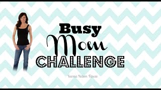 Busy Mom Tips III: How to Schedule a Healthy Lifestyle