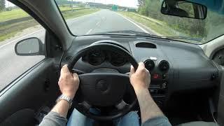 Chevrolet Kalos (Aveo) _ 4K Test Drive Review///Шевроле АВЕО 4К ТЕСТ Драйв Обзор
