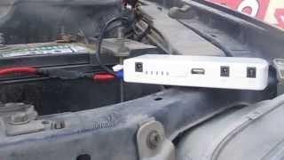 видео Зарядное mini (micro) USB устройство на 5 вольт в автомобиле своими руками