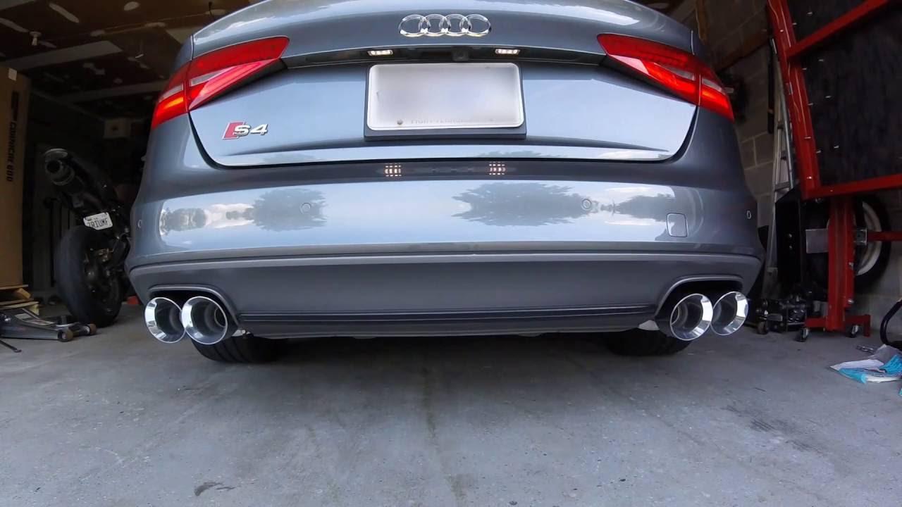 B8 5 S4 Awe Touring Exhaust (stock downpipes)