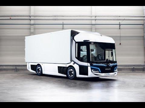 MAN CitE electric truck - Presentation at IAA 2018