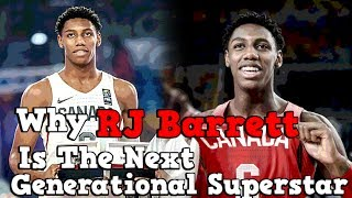 Why R.J. Barrett Is The NBA