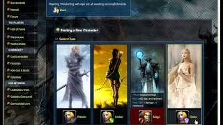 Darklands Online - Introduction - Classes